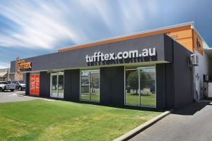tufftex showroom and factory for acrylic texture, wall cladding and mouldings in Perth